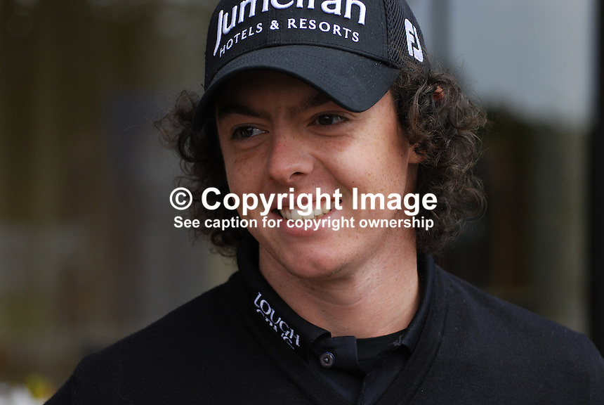 Rory McIlroy, Holywood, Co Down, N Ireland portrait, 200905122214..Taken at the Irish Open practice day, Tuesday, 12th May, 2009, at Baltray...Copyright Image from Victor Patterson, 54 Dorchester Park, Belfast, UK, BT9 6RJ..Tel: +44 28 9066 1296.Mob: +44 7802 353836.Voicemail +44 20 8816 7153.Skype: victorpattersonbelfast.Email: victorpatterson@mac.com.Email: victorpatterson@ireland.com (back-up)..IMPORTANT: If you wish to use this image or any other of my images please go to www.victorpatterson.com and click on the Terms & Conditions. Then contact me by email or phone with the reference number(s) of the image(s) concerned.