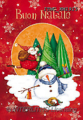 Marcello, CHRISTMAS SANTA, SNOWMAN, WEIHNACHTSMÄNNER, SCHNEEMÄNNER, PAPÁ NOEL, MUÑECOS DE NIEVE, paintings+++++,ITMCXM1915,#X#