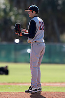 February 28, 2010:  Pitcher Kevin Johnson (22) of Illinois Fighting Illini during the Big East/Big 10 Challenge at Raymond Naimoli Complex in St. Petersburg, FL.  Photo By Mike Janes/Four Seam Images