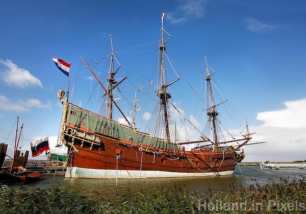 VOC  schip  De Batavia in Lelystad