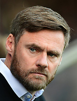 Scunthorpe United manager Graham Alexander<br /> <br /> Photographer Chris Vaughan/CameraSport<br /> <br /> The EFL Sky Bet League One - Scunthorpe United v Bristol Rovers - Saturday 11th November 2017 - Glanford Park - Scunthorpe<br /> <br /> World Copyright &copy; 2017 CameraSport. All rights reserved. 43 Linden Ave. Countesthorpe. Leicester. England. LE8 5PG - Tel: +44 (0) 116 277 4147 - admin@camerasport.com - www.camerasport.com