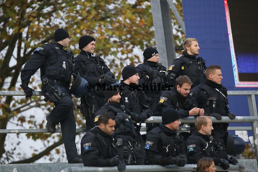 Fanclub Blau-Silber Frankfurt im Stadion - FSV Frankfurt vs. FC Erzgebirge Aue, Frankfurter Volksbank Stadion