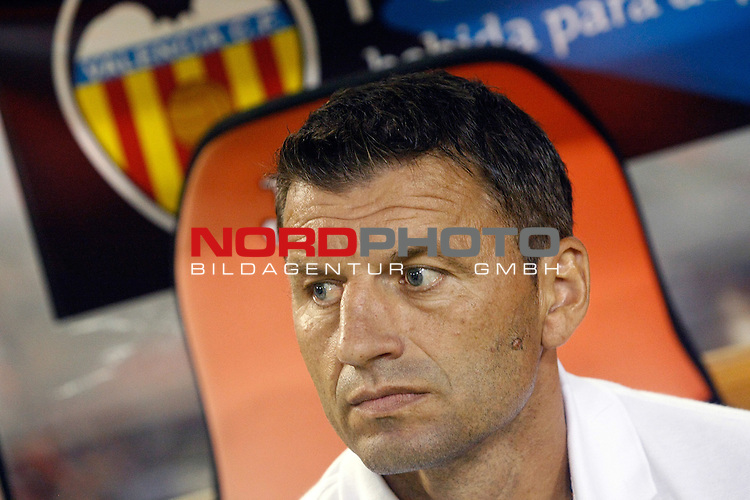 Valencia's coach Miroslav Djukic during La Liga match.September 1,2013. Foto © nph / Acero)