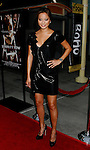 """HOLLYWOOD, CA. - September 03: Jaime Chung arrives at the Los Angeles premiere of """"Sorority Row"""" at the ArcLight Hollywood theater on September 3, 2009 in Hollywood, California."""