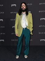03 November 2018 - Los Angeles, California - Alessandro Michele. 2018 LACMA Art + Film Gala held at LACMA.  <br /> CAP/ADM/BT<br /> &copy;BT/ADM/Capital Pictures