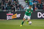 13.04.2019, Weser Stadion, Bremen, GER, 1.FBL, Werder Bremen vs SC Freiburg, <br /> <br /> DFL REGULATIONS PROHIBIT ANY USE OF PHOTOGRAPHS AS IMAGE SEQUENCES AND/OR QUASI-VIDEO.<br /> <br />  im Bild<br /> <br /> Milot Rashica (Werder Bremen #11)<br /> Einzelaktion, Ganzk&ouml;rper / Ganzkoerper<br /> <br /> Foto &copy; nordphoto / Kokenge