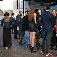 La giornata d'apertura della Settimana della Moda a Milano edizione 2013<br /> <br /> Open Day of Milan Fashion Week 2013 edition La giornata d'apertura della Settimana della Moda a Milano edizione 2013<br /> <br /> Open Day of Milan Fashion Week 2013 edition