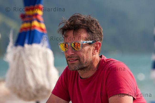 Gianpietro De Faveri, co-organizzatore e presidente della società GP Triathlon