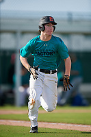 Jared Stouffer (62) of Waynesboro, Pennsylvania during the Baseball Factory Pirate City Christmas Camp & Tournament on December 28, 2018 at Pirate City in Bradenton, Florida. (Mike Janes/Four Seam Images)