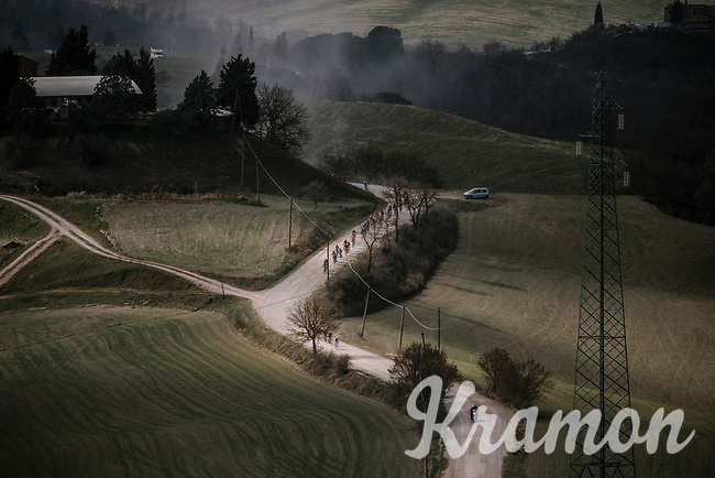 5th Strade Bianche WE (1.WWT)<br /> One day race from Siena to Siena (136km)<br /> <br /> ©JojoHarper for kramon
