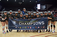 Stanford Volleyball W vs USC, November 16, 2017