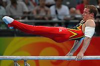 Fabian Hambuechen, Germany, Men's Parallel Bars .National Indoor Stadium - Gymnastic - ginnastica.Pechino - Beijing 19/8/2008 Olimpiadi 2008 Olympic Games.Foto Andrea Staccioli Insidefoto