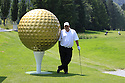 England's DJ Russell at Bad Ragaz PGA Seniors Open. 2 - 4 July 2010.Grand Resort Bad Ragaz, Switzerland.....© Phil INGLIS