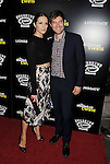 HOLLYWOOD, CA- SEPTEMBER 10: Actors Katie Aselton (L) and Mark Duplass attend 'The Skeleton Twins' Los Angeles premiere held at the ArcLight Hollywood on September 10, 2014 in Hollywood, California.