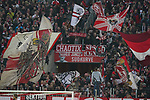 30.11.2019, RheinEnergieStadion, Koeln, GER, 1. FBL, 1.FC Koeln vs. FC Augsburg,<br />  <br /> DFL regulations prohibit any use of photographs as image sequences and/or quasi-video<br /> <br /> im Bild / picture shows: <br /> Fans, freundlich, Stimmung, farbenfroh, Nationalfarbe, geschminkt, Emotionen, koelner<br /> <br /> Foto © nordphoto / Meuter