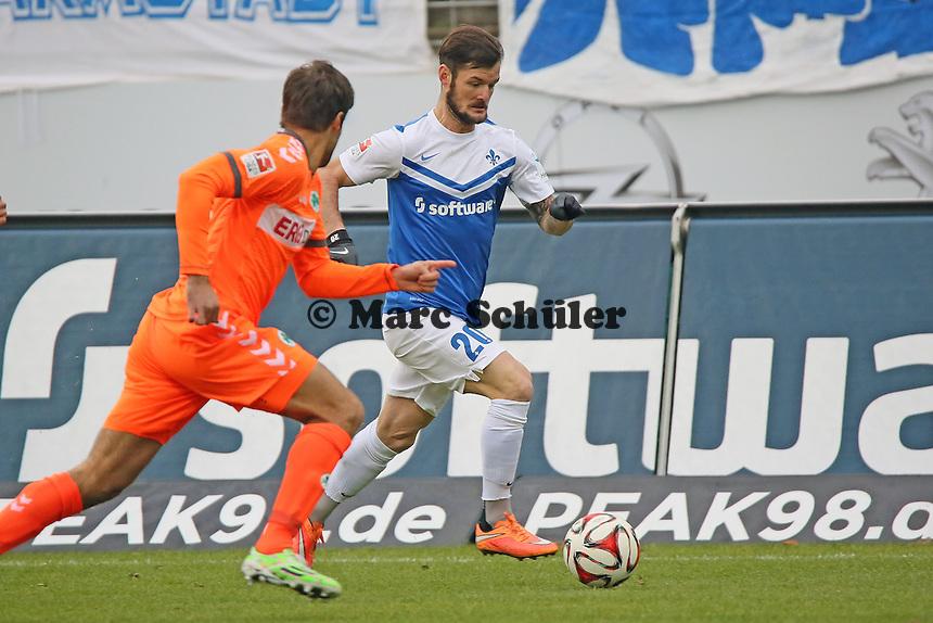 Marcel Heller (SV98) - SV Darmstadt 98 vs. SpVgg. Greuther Fuerth, Stadion am Boellenfalltor