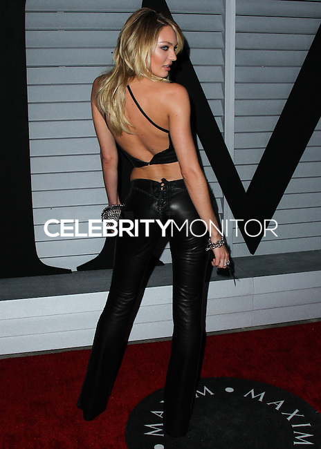 WEST HOLLYWOOD, CA, USA - JUNE 10: Model Candice Swanepoel arrives at the MAXIM Hot 100 Party held at the Pacific Design Center on June 10, 2014 in West Hollywood, California, United States. (Photo by Xavier Collin/Celebrity Monitor)