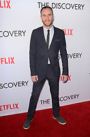 LOS ANGELES, CA - MARCH 29: Charlie McDowell at the Netflix special film screening of The Discovery  at The Vista Theater in Los Angeles, California on March 29, 2017. Credit: David Edwards/MediaPunch