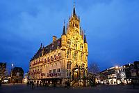 Nederland Gouda 2018. Het oude Stadhuis van Gouda op de Markt. Foto Berlinda van Dam / Hollandse Hoogte