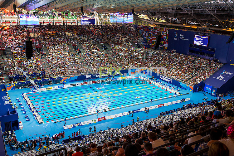 Picture by Alex Whitehead/SWpix.com - 09/08/2015 - Swimming - 16th FINA World Swimming Championships 2015 - Kazan Arena Stadium, Kazan, Russia - A General View (GV).