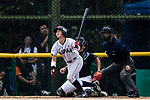 #13 Kanemitsu Ririna of Japan bats during the BFA Women's Baseball Asian Cup match between Japan and Hong Kong at Sai Tso Wan Recreation Ground on September 5, 2017 in Hong Kong. Photo by Marcio Rodrigo Machado / Power Sport Images