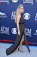 07 April 2019 - Las Vegas, NV - Carrie Underwood. 2019 ACM Awards at MGM Grand Garden Arena, Arrivals.<br /> CAP/ADM/MJT<br /> &copy; MJT/ADM/Capital Pictures