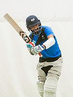 Picture by Allan McKenzie/SWpix.com - 05/04/2018 - Cricket - Yorkshire County Cricket Club Training - Headingley Cricket Ground, Leeds, England - Cheteshwar Pujara bats.