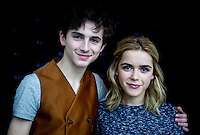 Actress Kiernan Shipka and Kalament interview. 2015.02.10. Photo by Samuel de Roman / photocall3000 / DyD Fotografos-DYDPPA