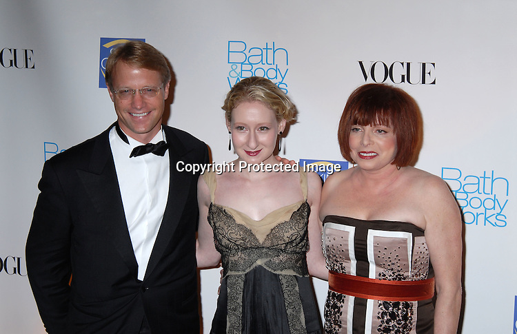 Neil Fiske, Sarah Brown and Dr Patricia Wexler ..at The Skin Cancer Foundation's Annual Skin Sense Award..Gala on October 11, 2006 at The Pierre Hotel...Robin Platzer, Twin Images
