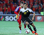 10.10.2015 Andorra. UEFA Europaen Championship Qualifying Round. Picture show Nacer Chadli in action during match Andorra v Belgium