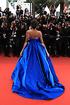 Cannes Film Festival 2017 - Day 2.<br /> Winnie Harlow on the red carpet for the screenings of 'Loveless (Nelyubov)' during the 70th edition of the Festival International du Film on 18/05/2017 in Cannes, France.  &copy; Pierre Teyssot