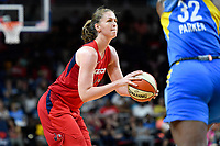 Washington, DC - September 8, 2019: Washington Mystics center Emma Meesseman (33) in action during game between the Chicago Sky and Washington Mystics at the Entertainment and Sports Arena in Washington, DC. The Mystics locked up the #1 seed in the Playoffs by defeating the Sky 100-86. (Photo by Phil Peters/Media Images International)