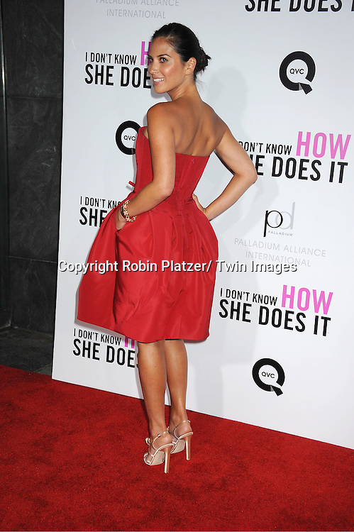"Olivia Munn attending the premiere of "" I Don't Know How She Does It"" on September 12, 2011 at The Loews Lincoln Square in New York City"
