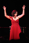Linda Eder performing her show 'A New Life' ('Jekyll & Hyde' Reunion) at The Town Hall on October 13, 2012 in New York City.