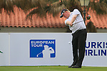 Richard Finch (ENG) tees off on the 1st tee during Day 2 Friday of the Open de Andalucia de Golf at Parador Golf Club Malaga 25th March 2011. (Photo Eoin Clarke/Golffile 2011)