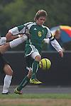 Palos Verdes, CA 02/07/12 -  in action during the Mira Costa vs Peninsula Boys Varsity soccer bay league game.