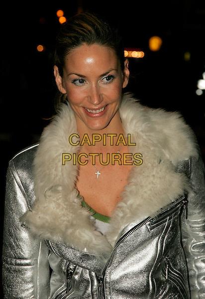 "LISA BUTCHER.""Casanova"" UK premiere, London, UK..February 13th, 2006.Ref: SW.headshot portrait silver white fur collar.www.capitalpictures.com.sales@capitalpictures.com.©Capital Pictures."