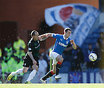 Lee Wallace holds off Mark Stewart