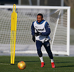 01.02.2019: Rangers training: Jermain Defoe