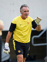 Eric Steele. Manchester United defeated Philadelphia Union, 1-0.