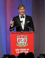 Alexi Lalas. US Soccer held their Centennial Gala at the National Building Museum in Washington DC.