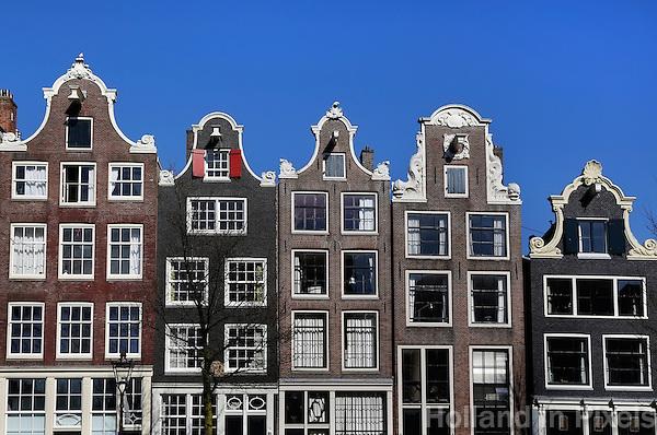 Grachtenpanden In Amsterdam Holland In Pixels