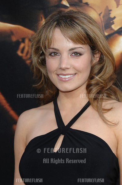 Actress ERICA DURANCE at the Los Angeles premiere of Batman Begins..June 6, 2005 Los Angeles, CA..© 2005 Paul Smith / Featureflash