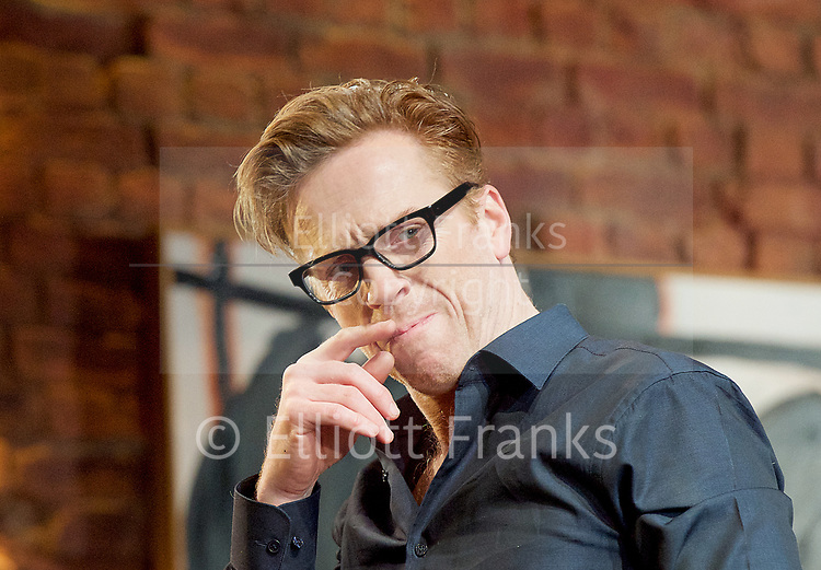 Edward Albee&rsquo;s The Goat or Who is Sylvia <br /> production by Ian Rickson <br /> at The Theatre Royal Haymarket London, Great Britain <br /> 30th March 2017 <br /> press photocall <br /> <br /> <br /> Damian Lewis as Martin  <br /> <br /> <br /> Photograph by Elliott Franks <br /> Image licensed to Elliott Franks Photography Services