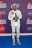 05 June 2019 - Nashville, Tennessee - Jimmie Allen. 2019 CMT Music Awards held at Bridgestone Arena. <br /> CAP/ADM/DMF<br /> ©DMF/ADM/Capital Pictures