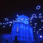 Luci d'artista a Torino. L'opera di Rebecca Horn al Monte dei Cappuccini. Dicembre 2005...Artist's lights in Turin. The work by Rebecca Horn. December 2005...Ph. Marco Saroldi. Pho-to.it