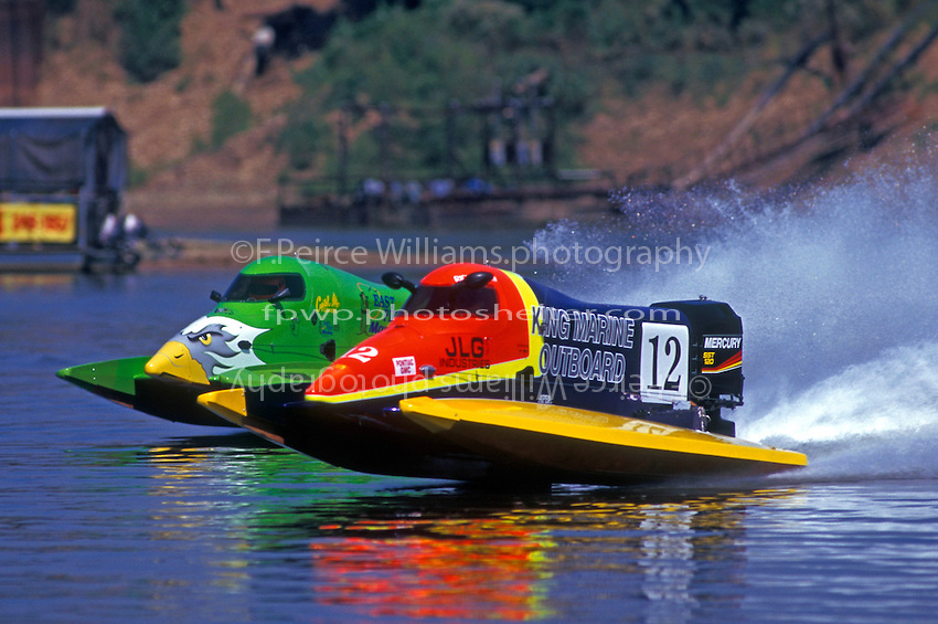 Wyatt Nelson (#39) and Richard Hearn (#12) St. Louis, MO 1998 (SST-120)