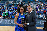 KATY - MARCH 17: Texas A&M Corpus Christi v Abilene Christian University for the Southland Conference Women's  Basketball Championship at Merrell Center, March 17, 2019 in Katy, Texas (Photo by Rick Yeatts)
