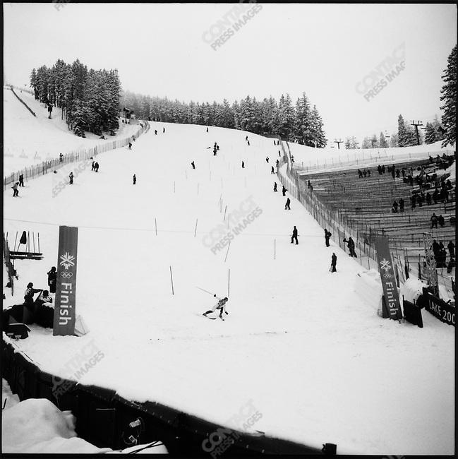 Slalom, Winter Olympics, Park City Utah, USA.  February 2002