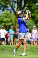 Candie Kung (TPE) watches her tee shot on 2 during Saturday's round 3 of the 2017 KPMG Women's PGA Championship, at Olympia Fields Country Club, Olympia Fields, Illinois. 7/1/2017.<br /> Picture: Golffile | Ken Murray<br /> <br /> <br /> All photo usage must carry mandatory copyright credit (&copy; Golffile | Ken Murray)
